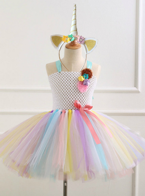 Girl Handmade Tulle Tutu Dress