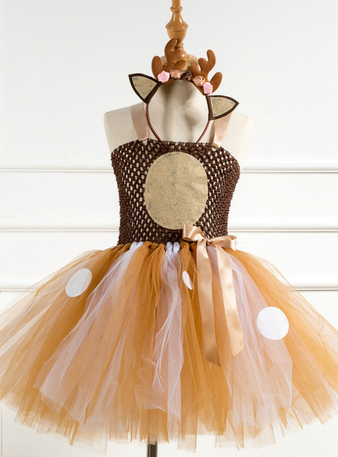Girl Tulle Tutu Party Dress