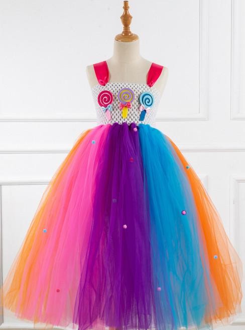 Girl Colorful Candy Tutu Tutu Dress
