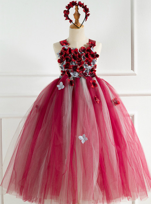 Girls Tulle Tutu Handmade Dress