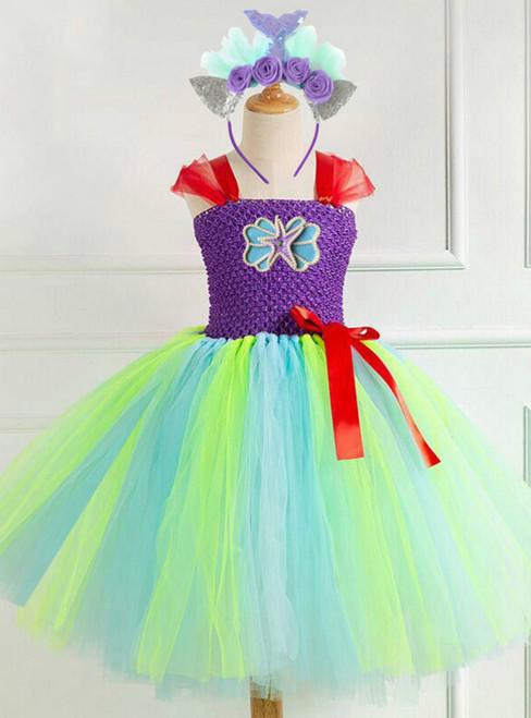 Girls Tulle Tutu Starfish Dress