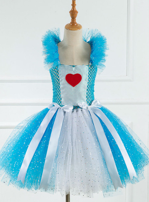 Cosplay Maid Love Heart Tutu Dress