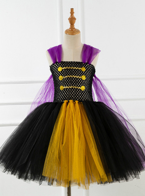 Girls Tulle Tutu Birthday Dress