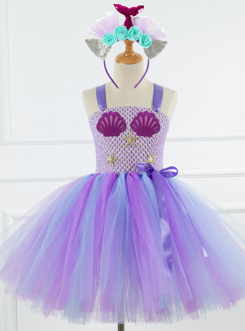 Princess Costume Tulle Tutu Dress