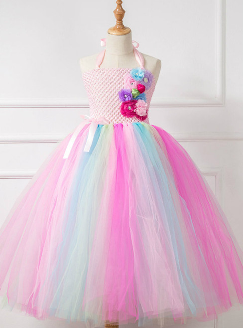 Fashion Tulle Tutu Girls Princess Dress