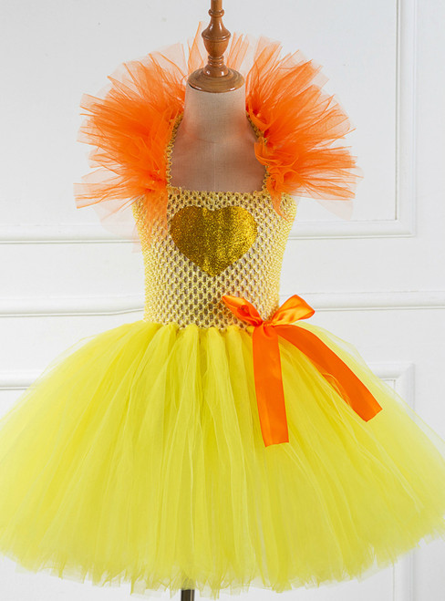 Halloween Party Tulle Tutu Dress