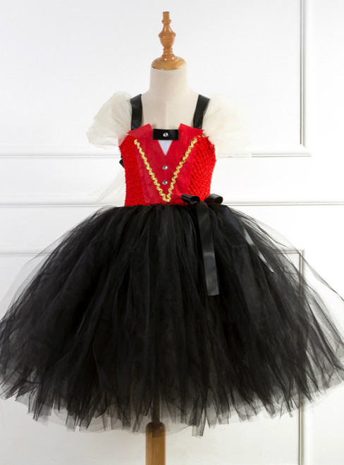 Black Tulle Tutu Party Princess Dress