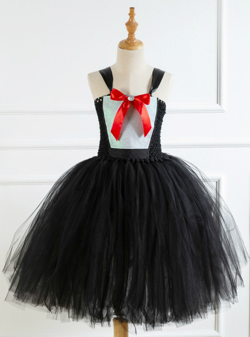 Black Swan Handmade Bow Princess Dress
