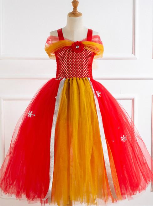 Christmas Snowflakes Tulle Tutu Dress