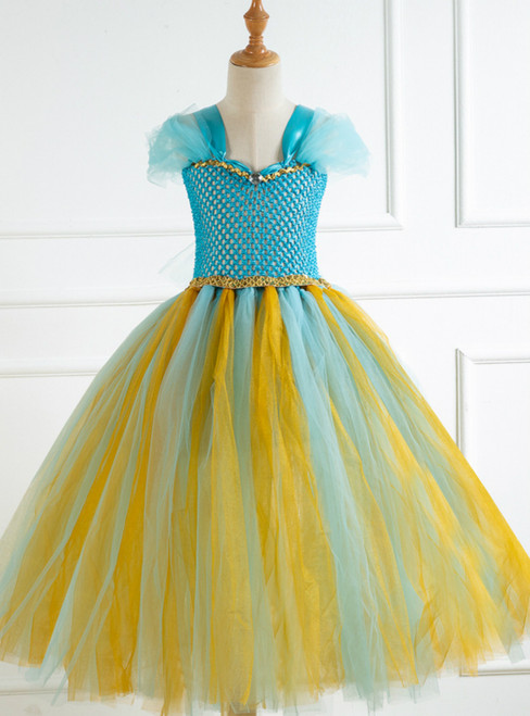Girls Tulle Tutu Costume Party Dress