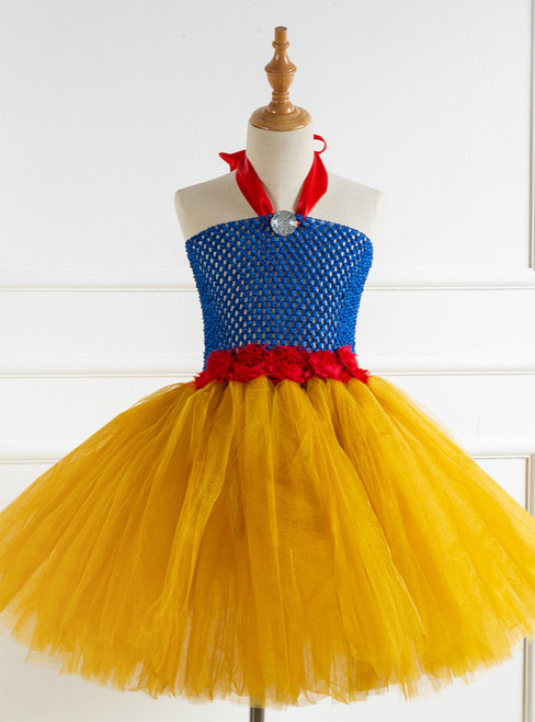 Girls Cosplay Tulle Tutu Party Dress