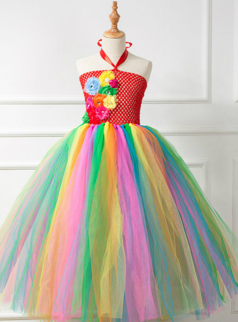 Girls Headband Costume Tulle Dress