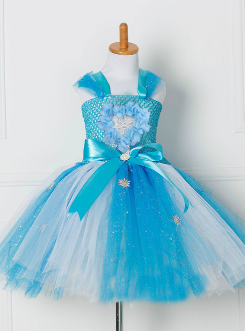 Girls Frozen Aisha Tulle Tutu Dress