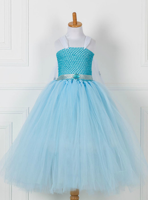 Sky Blue Tulle Tutu Princess Dress