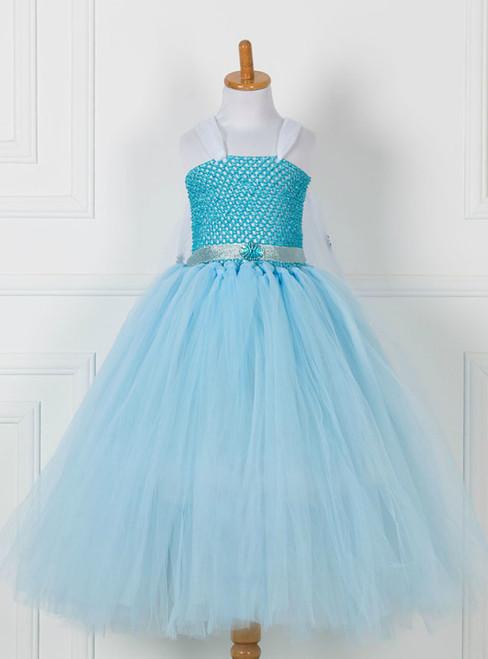 Sky Blue Tulle Tutu Princess Dress