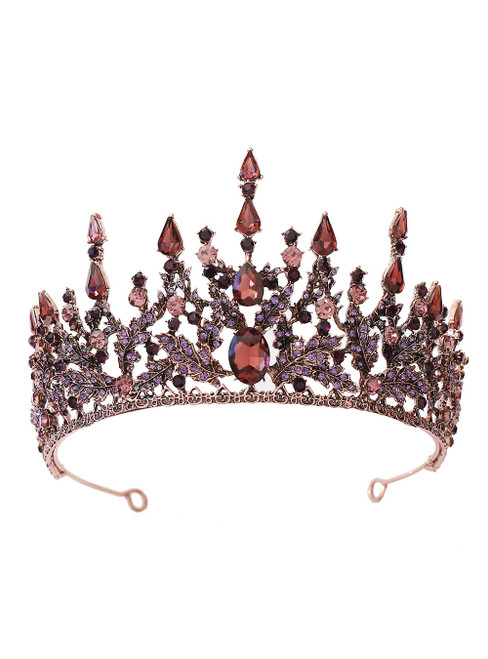 Baroque Bride Crown Tiara Princess Crown