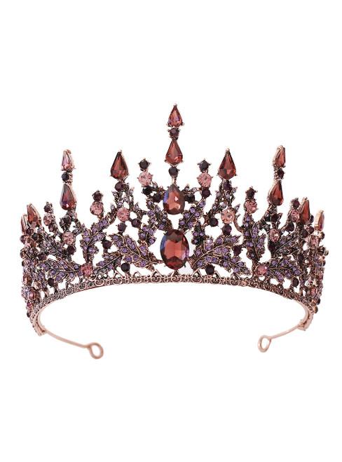 Baroque Bride Crown Tiara Princess Crown