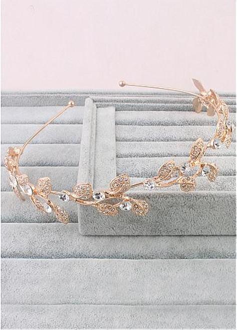 In Stock Fabulous Alloy Wedding Hair Jewelry With Rhinestones