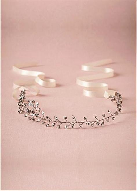 Chic Alloy Wedding Hair Jewelry With Rhinestones beautiful