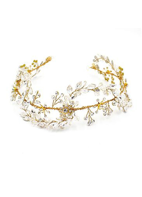 Fabulous Wedding Hair Jewelry With Rhinestones