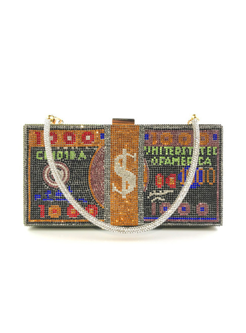 Women's Colorful Beading Party Clutch Bag