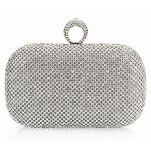 Fashion European Diamond Ring Women's Clutch Bag