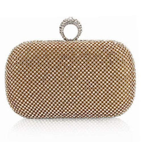 Cheap European Diamond Ring Women's Clutch Bag