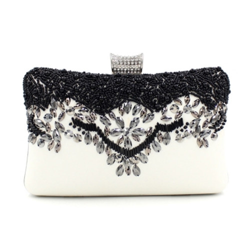 Fashion  High-grade Beading Decoration Evening Clutch