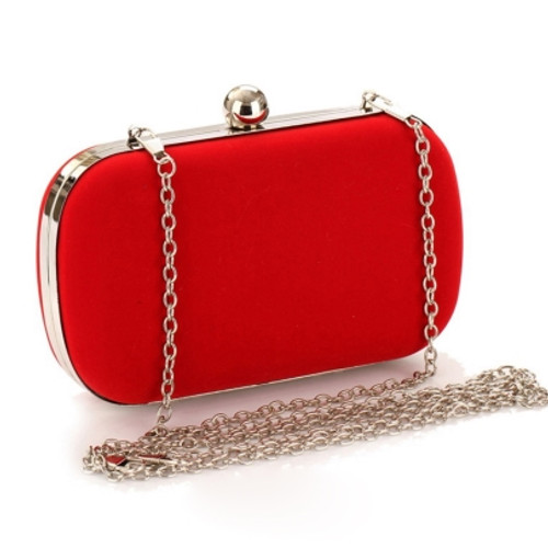 Cheap Simple Suede with Chain Women Clutches