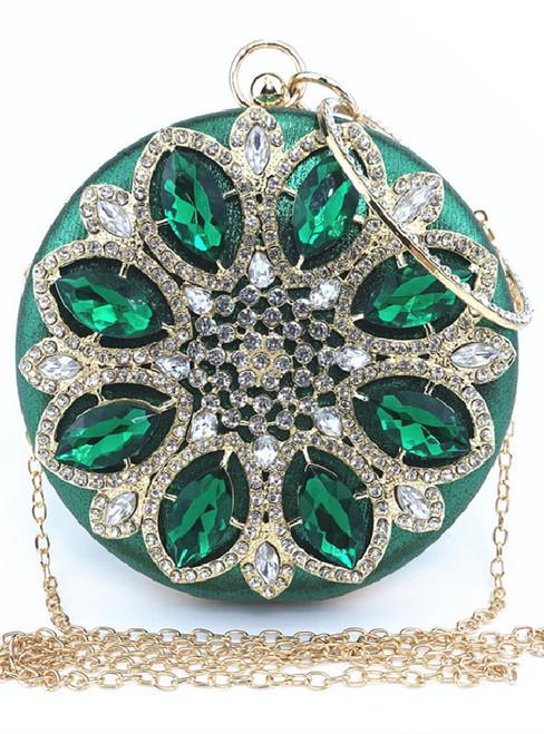 Dinner Diamond Round Fashion Diamond Handbag