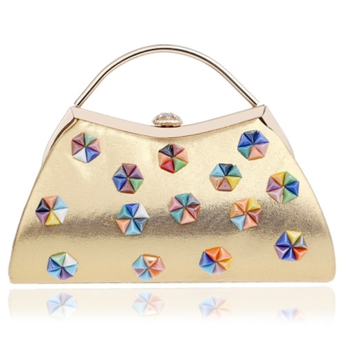 Cheap European Style Colorful Bead Design Clutch