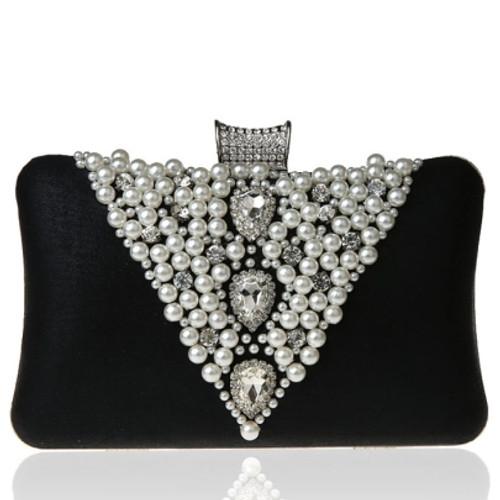 Black Color Optional Square Women's Dinner Bag