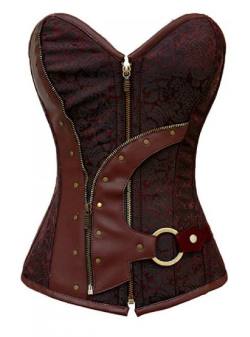 Cheap Alluring Strapless Beam Waist Zipper Backless