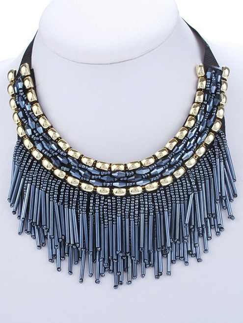 Beautiful Leaf Tassel Necklaces & Earrings