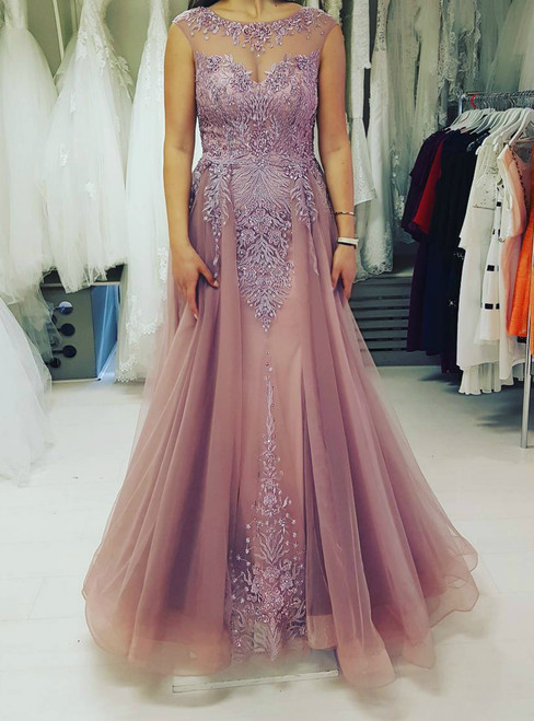 Most Beautiful Tulle Evening Dress 2017
