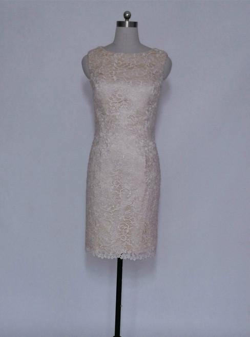 Romantic Formal Dresses Knee Length Mother of the Bride Dresses