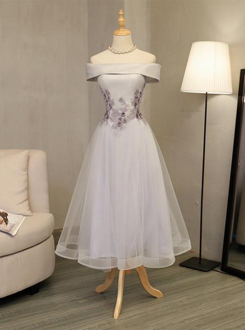 Hot Sale Elegant Homecoming Dresses A-line Homecoming Dresses Applique