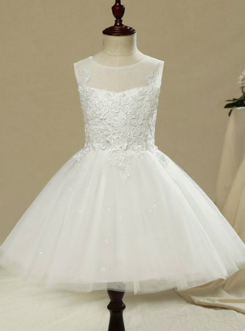 Princess Beautiful Church Wedding Party Dresses 2017 Flower Girl Dresses