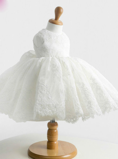 Fancy High quality flower girl dresses for weeding party Girls birthday patry dress