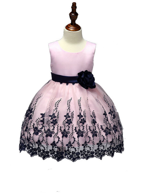 Princess Flower girl dresses for wedding and party embroidery