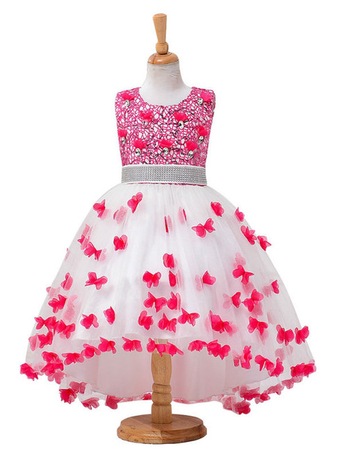 Sweet New flower girl dresses for weddings high low