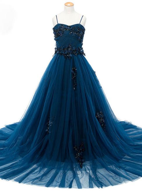 Lovely Baby Blue Photography Flower Girl Dresses Beading Appliques Sleeveless