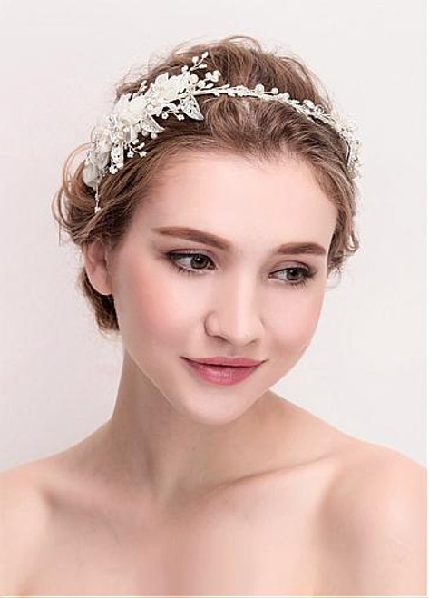 Fashion Graceful Alloy Wedding Hair Jewelry With Flowers