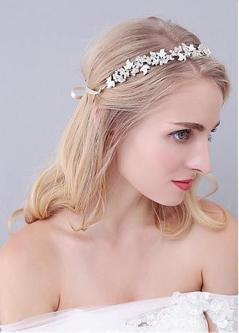 Hair Ornaments With Rhinestones Amazing Alloy Wedding