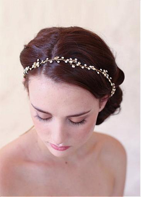 Cheap Chic Alloy Wedding Hair Jewelry With Rhinestones