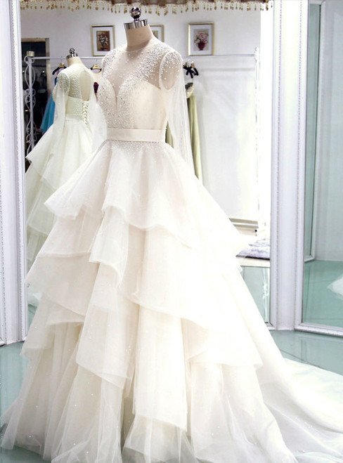 High quality Wedding Dress  Bridal Gown Long Wedding Dresses