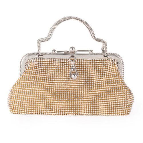 Fashion Diamante Elegant Evening Clutch Bag