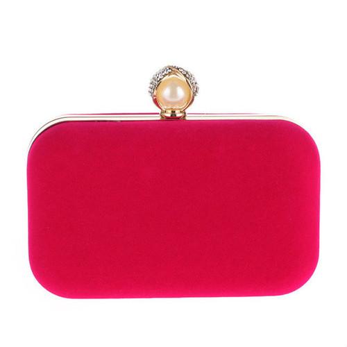 Cheap Pearl Basic Evening Clutch Bag