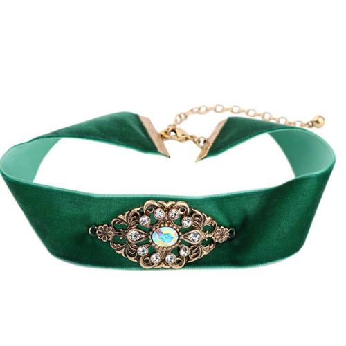 Fashion Ribbon Adjustable Choker Necklace