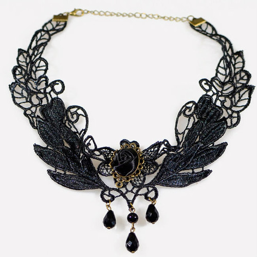 Cheap Wing Shape Lace Necklace